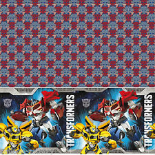 120cmx180cm Transformers Optimus Bumblebee Children's Party Plastic Table Cover