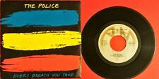 """The Police Every Breath You Take Italy A & M Records 1983  Lp Vinyl 45 Giri 7"""""""