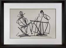 Henry MOORE Lithograph Limited EDITION 107/150 +Cat. Ref. c41 +++Custom FRAMING