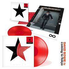 "DAVID BOWIE, BLACKSTAR 12"" RED VINYL, TOKYO EXHIBITION + MANY EXTRA'S (SEALED)"