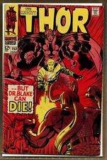 Mighty Thor #153 - Loki - ''But Dr. Blake Can Die!'' - 1968 (VG) WH