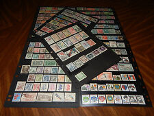 Czechoslovakia stamps - BIG lot of 278 mint hinged & used stamps - super !!