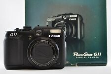 [Exc⁺⁺] CANON PowerShot G11 10.0 MP Black Point & Shoot Digital Camera