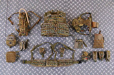 Dam Toys Modern British Army In Afghanistan 1/6 Toy BODY ARMOUR MK4 w/ POUCHES