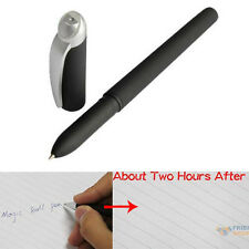 Magic Ball Pen Ink Invisible Disappear Slowly Within Hours #F8s