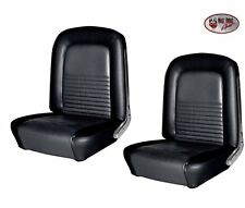1967 Mustang FASTBACK Front Bucket & Rear Seat Upholstery TMI Made in USA!