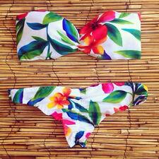 2015 neue Frauen-Verband-Push-up-Bikini-Satz gepolsterter BH Triangle Bademode