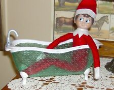 Bathtub.... Great Prop Accessory .... for YOUR Elf on the Shelf, TUBBY TIME!!