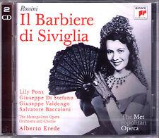 ROSSINI IL BARBIERE DI SIVIGLIA Giuseppe Di Stefano Valdengo Lily Pons EREDE 2CD