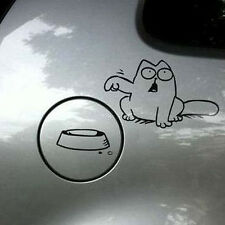 Funny Cat For Auto Car/Bumper/Window Vinyl Decal Sticker Decals DIY Decor