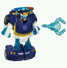 PlayskoolHeroes Transformers Rescue Bots Energize Chase the Police-Bot Figure