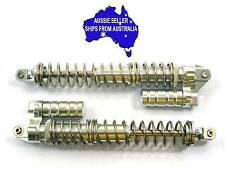 Heavy duty alloy piggyback rear shocks for HPI Baja 5B,T KM Baja 1:5 RC  Silver