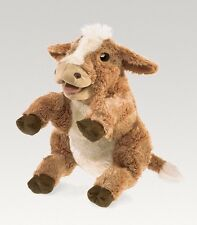 BROWN COW Puppet # 3080 ~NEW for 2016 ~ Free Shipping in USA ~ Folkmanis Puppets