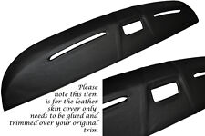 BLACK STITCH FITS TRIUMPH SPITFIRE MK4 DASH DASHBOARD LEATHER SKIN COVER ONLY