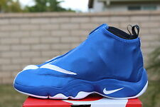 NIKE AIR ZOOM FLIGHT THE GLOVE SZ 8 ROYAL BLUE WHITE BLACK ORLANDO 616772 400