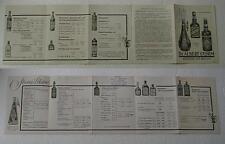 preisliste 1937 nur für den handel dr albert sturm bingen am rhein