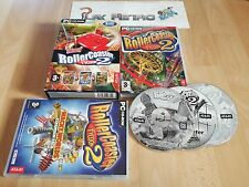 PC TOTALLY ROLLER COASTER TYCOON 2 COMPLETO PAL ESPAÑA