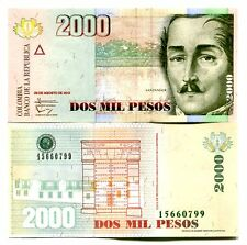 COLOMBIA 2000 PESOS 2013 P-457-NEW UNC