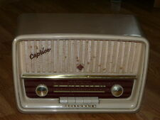 Vintage Telefunken Superheterodyne Caprice 5051W Tubes Radio, West Germany, Work
