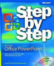 Microsoft Office PowerPoint 2007 Step-by-Step by Joan Preppernau, Joyce Cox...