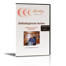 Die Selbsthypnose erlernen - per hypnotischer CD