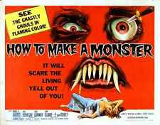 How To Make A Monster Poster 02 A2 BoX Canvas Print
