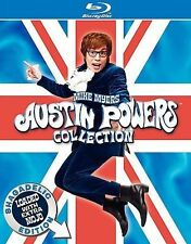 Austin Powers Collection - Shagadelic Edition Loaded with Extra Mojo (Blu-ray...