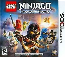 LEGO Ninjago: Shadow of Ronin USED SEALED (Nintendo 3DS) 3 2 2DS FREE SHIPPING