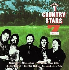 No. 1 Country Stars, Vol. 7 by Various Artists (CD, Jul-1996, Sony Music)