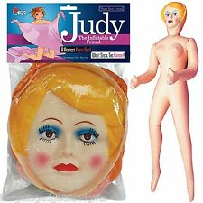 INFLATABLE BLOW UP FEMALE LADY DOLL FUNNY MENS JOKE STAG NIGHT CHRISTMAS PRESENT
