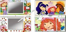 nintendo DS Lite - STRAWBERRY SHORTCAKE  4 Piece Sticker Skin vinyl