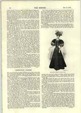 1896 Ladies Dress At The Spa Seaside Mary Moore's Latest Gown
