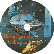 Harry Harrison Sci-Fi Audio Book Collection on 1 MP3 CD Unabridged FREE SHIP