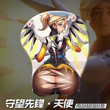 Game Overwatch OW Mercy Sexy Cosplay Mouse Mat Gaming Mouse Pad Gift #99