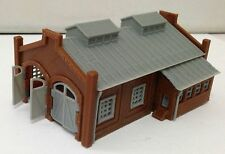 Outland Models Train Railway Locomotie Shed / Engine House (2-Stall) Z Scale