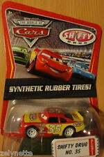 DISNEY CARS N°35 SHIFTY DRUG PNEUS CAOUTCHOUC SYNTHETIC RUBBER TIRES  #35