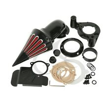 Air Cleaner Kits intake filter For Harley Touring Electra Glide 2008-2012 Black