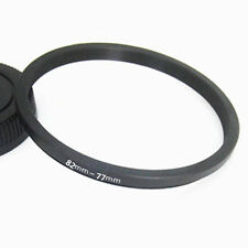 82mm-77mm 82-77 mm 82 to 77 Step Down Filter Ring Stepping Adapter Adaptor Black