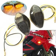 LED Flush Mount Front Turn Signals Light For Honda CBR 600RR 1000RR 2004-2007 05