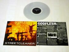 "Godflesh ""Streetcleaner"" Transparent Vinyl - Remastered NEW Ltd to 500 Copies!"