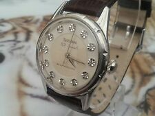 mens vintage bulova 23 jewels with six adjustments self-winding watch