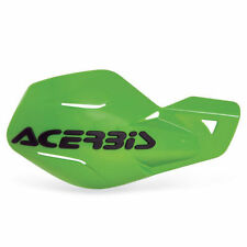 Acerbis Uniko Motocross Enduro Handguards With Fitting Kit Green Kawasaki KXF450
