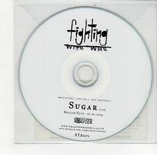 (GO215) Fighting With Wire, Sugar - 2009 DJ CD