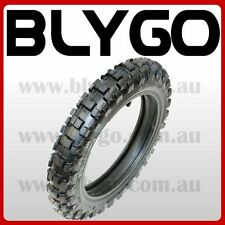 "GL 2.50-10"" Inch Front Knobby Tyre Tire + Tube PIT PRO Trail Dirt PW50 Bike"