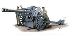 Armourfast 89001 1/72 WWII German LEFH105 Howitzer and Crew (2 Models)