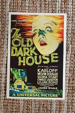 The Old Dark House Lobby Card Movie Poster Karloff Melvin Douglas Gloria Stuart