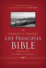 The Charles F. Stanley Life Principles Bible (2013, Hardcover)