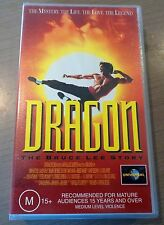 DRAGON - THE BRUCE LEE STORY - VHS VIDEO