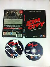 SIN CITY Re-Cut And Extended Collector's Edition Steelbook (2 Discs)BRUCE WILLIS