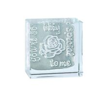 Spaceform Glass Text Token You're So Very Special To Me Keepsake Gift Box 1706